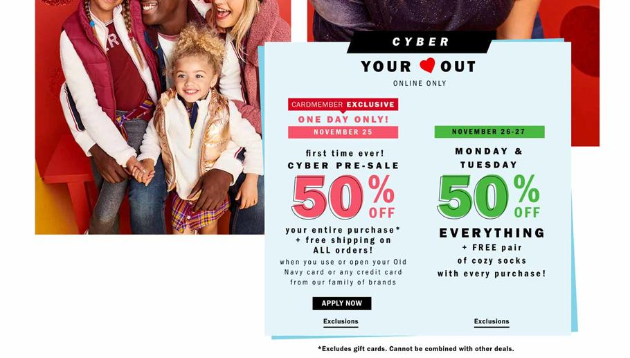Old Navy Black Friday page 4